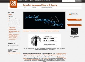 Dept of Language website